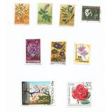 5o Estampillas Mundiales De Flores