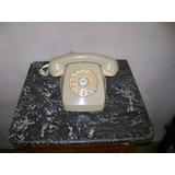 Teléfono Retro Antiguo Vintage Color Claro