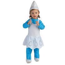 Los Pitufos Pitufina Disfraces De Halloween - Niño Tamaño 2t