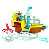 Barco Submarino De Jake Pirata Del Pais De Nunca Jamás!!!