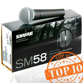 Microfone Shure Sm58- Sm 58 - Ideal Para Vocal