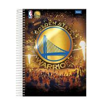 *caderno Espiral Capa Dura Universitário 10matérias Nba 200f