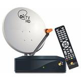 Kit Oi Tv C/1 Antena 2 Receptores Etrs35+lnb Quádru Completo