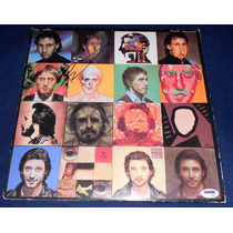 Disco Autografiado Pete Townshend The Who Face Dances Vinyl