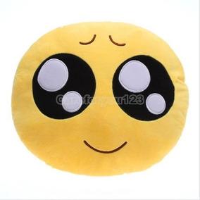 Chaveiro De Pelúcia Emoji Olhar Apaixonado Novo Lindo