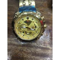 Relógio Casio Edifice Red-bull Ef 550rbsp Original Dourado