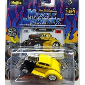 ´33 Willys Coupe Antigua Maisto Muscle Machines 1/64