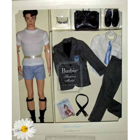 Barbie Fashion Model Insider Ken Silkstone Doll Giftset