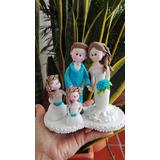 Novios En Porcelanicron Porcelana Fria. Tope De Torta