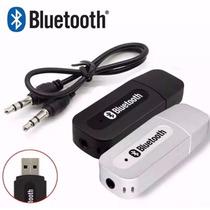 Adaptador Áudio Receptor Música Bluetooth Usb Veicular E Som