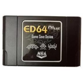 Flashcard Ed64 Plus P/ Nintendo 64 Cartucho N64 Everdrive