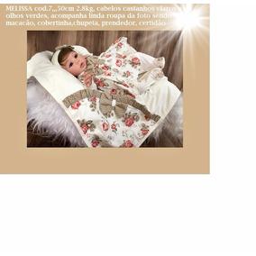 Boneca Reborn Melissa 7 (só Envio Por Expresso)