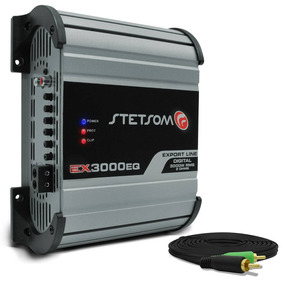 Modulo Stetsom Ex 3000 Eq Similar Taramps Hd3000 + Cabo Rca