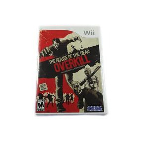 House Of The Dead Overkill Original Novo Wii Frete Grátis!