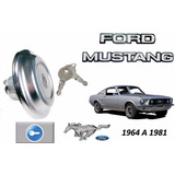 64-81 Ford Mustang Tapon De Gasolina Con Llaves