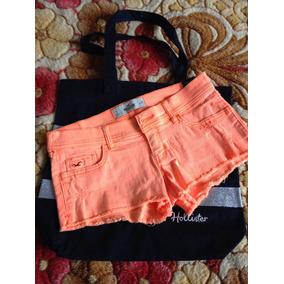 Bolsa E Short Feminino Hollister/3 W26/promoção