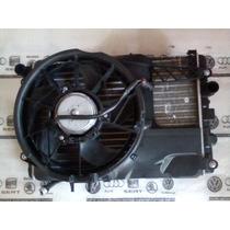 Kit Conjunto Radiador Condensador Ventoinha Vw Gol G3 G4