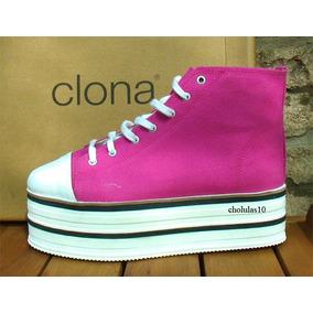 Clona!! Borcegos Creepers Zapatillas Plataformas Nuevas