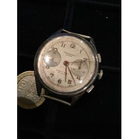 Antiguo Reloj Cronógrafo Suisse Completo Requiere Mantencion