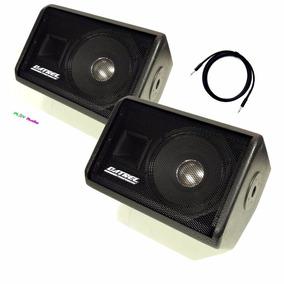 Kit Monitor Retorno Ativo+passivo 400w Rms Falante 10 Datrel