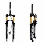 Suspensão 29 Voltec Black C/ Trava No Guidão 110mm Bike Mtb
