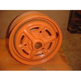 Roda De Aço Corcel Gt Aro 13 Tala 4 Para Restaurar