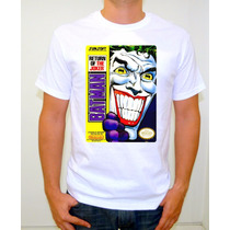 Batman Return Of The Joker Playera Gamer Retro Vintage Nes