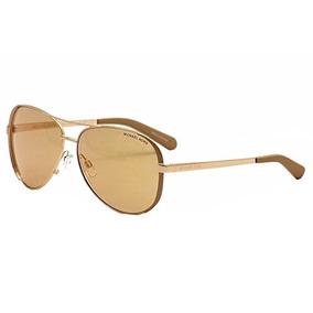 Michael Kors Mk R1 Chelsea Gafas De Sol De Oro De Rose