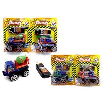 10un Caminhao Mini 9.5cm Com Controle Com Fio Truck