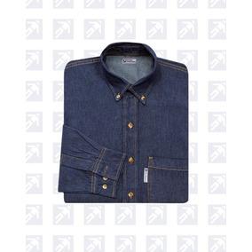 Camisa De Mezclilla Para Uniforme