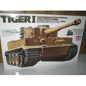Tiger 1 Kommandant Otto Carius Figuras Incluidas Tamiya 1/35