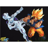 Dragon Ball Z Vkh Ssj Goku Vs Freezer Diorama Dbz A Pedido