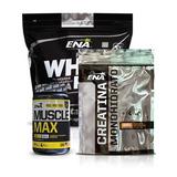 Aumento De Masa Muscular Ena Proteína