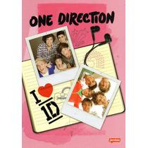 Caderno Univ Brochurão Capa Dura One Direction 96fls Jandaia