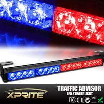 Torreta Emergencia Trafico Rojo/azul 46cm Policia,ambulancia