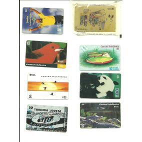 8 Raros Cartões Telefonicos