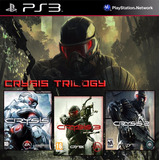 Crysis 1 + Crysis 2 + Crysis 3 Ps3 Digital