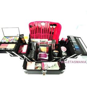 Maleta Grande Completa Maquiagem Avon V255 + Brinde Mary Kay