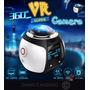 Mini Câmera 360° Filma Em 3d E Fotos Em Alta Resolução