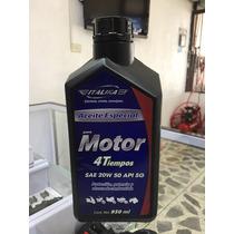 Aceite Motocicleta Italika 4t Original 20w50 1 Lt Mineral