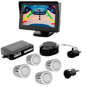 Camera Re Sensor Estacionamento Tela Lcd Fiesta Ecosport