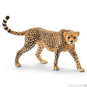 Cheetah Guepardo Schleich, Replica Original Pintado A Mano