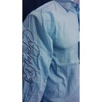 Camisa Ed Hardy Tiger Plata