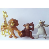 Lote Madagascar Mc Donalds - Alex, Melman, Mason Rei Julien
