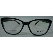 Armação Oculos Grau Gucci 9732 Feminino Barato Elegante