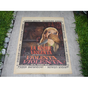 Enrique Lizalde , La Noche Violenta , Poster De Cine