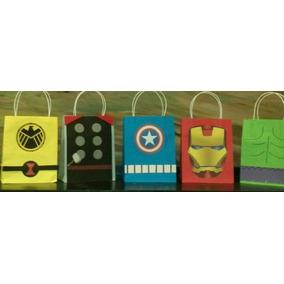 Dulceros Avengers (ironman, Capitan América, Thor, Hulk,etc)
