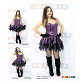 Fantasia Bruxa Roupa Bruxinha Halloween Vestido - Promoção