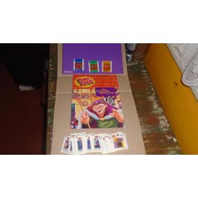 Álbum Ping Pong Corcunda Notre Dame Vazio + Figurinhas Solta