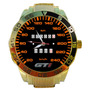 Relógio Velocímetro Vw Quadrado Gol Gti 240km Dourado Barato